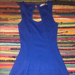 Dresses & Skirts - Blue mini dress